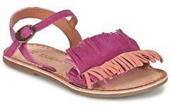 Roze Sandalen Kickers DIXFROUFROU KID