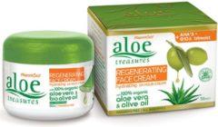 Pharmaid Aloe Treasures Regeneratieve AHA + Q10 en Trimoist 24 uur voedende gezichtscrème 50ml