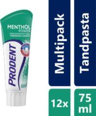 Prodent Mentol Power Tandpasta - 75 ml - 12 stuks - Voordeelverpakking