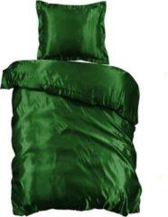 Beauty Silk - Dekbedovertrek Satijn - Groen - 140x200/220