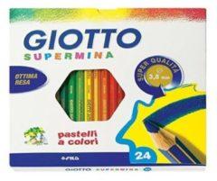 Pastelli Supermina Giotto - assortiti - conf. 24