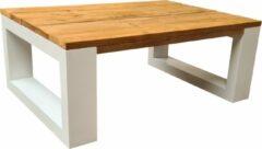 Bruine Wood4you - Salontafel New Orleans - Roastedwood 140lx90dx43h