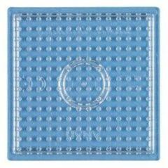 Hama - Strijkkralen Grondplaat - Vierkant Klein - Transparant