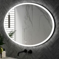 Sanituba Horizon spiegel 120cm ovaal met LED verlichting en touch bediening