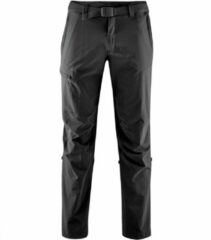 Maier Sports - Nil - Trekkingbroeken maat 24 - Short, zwart/grijs