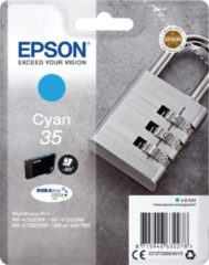 Epson 35 cartridge hoge capaciteit cyaan voor inkjetprinter