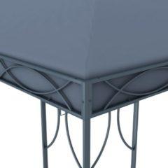 Antraciet-grijze VidaXL Prieel 300x300 cm antraciet VDXL 48047