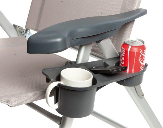 Afbeelding van Antraciet-grijze Bo Camp Bo-Camp - Side table - Universeel - 3-Vaks