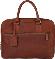 "Bruine Burkely Antique Avery Laptopbag 13.3"" Cognac 798156"