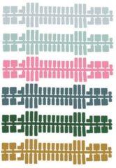 Ministeck uitbreidingsset kleurenstrips 9 delig 31665