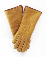 Bernardino Beige Lammy handschoenen suede voor volwassenen 9 (XL - 23 cm)