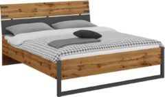 Beter Bed Basic bed Edinburgh - 160 x 200 cm - eiken/grijs
