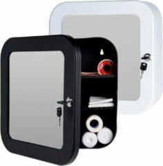 Bathroom Solutions Medicijnkastje met spiegel - wit