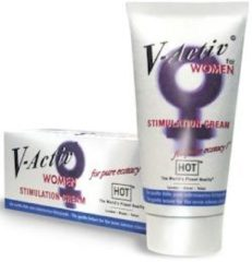 Hot-Hot V-Activ Stim.Creme Woman 50Ml-Creams&lotions&sprays