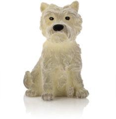 Flambiance LED-Kerze Terrier mit Samt-Haptik