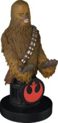 Bruine Cable Guy - Chewbacca telefoonhouder - game controller stand met usb oplaadkabel 8 inch