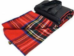 Rode Tweedmill Picknickkleed Eventer Large Royal Stewart