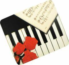AIM Muismat pianotoetsen/roos