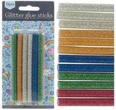 Merkloos / Sans marque Glitter Lijmpatronen voor Lijmpistool Vulling - 7x100MM
