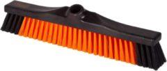 Oranje KERSTAANBIEDING - OrangeBrush - Bezem - Zacht - 40 cm - Gemaakt van gerecycled kunststof - OB20440