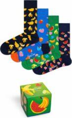Happy Socks Sokken 4-Pack Fruit Socks Gift Set Groen
