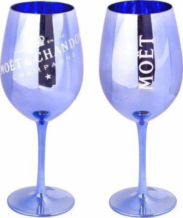 Afbeelding van Moet & Chandon Moët & Chandon Champagneglas - Blauw - 400 ml - 1 glas