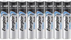 AAA batterij (potlood) Energizer Max Plus Alkaline 1.5 V 8 stuks