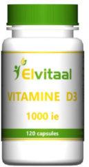 Elvitaal Vitamine D3 1000ie 25 Mcg (120ca)