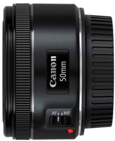 Afbeelding van Zwarte Canon EF 50MM STM Lens