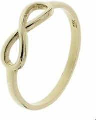 Goudkleurige The Fashion Jewelry Collection Ring Infinity - Goud