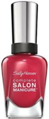 Roze Sally Hansen Complete Salon Manicure 281|465 Scarlet Lacquer