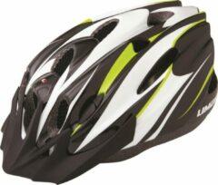 Fietshelm zwart groen - Limar sport action 525 - Maat L (55-61cm) - met afneembare visor