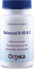 Orthica Balanced B-50 & C (vitaminen) - 60 Tabletten
