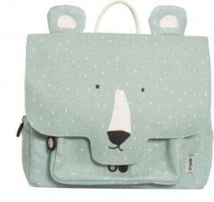 Blauwe Trixie - Peuterboekentas Mr. Polar Bear