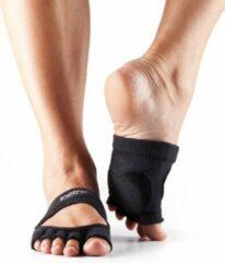 Toe Sox ToeSox Sokken Zonder Tenen Releve Dans Sokken – Zwart