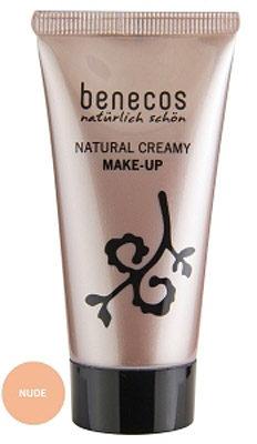 Afbeelding van Benecos Nude Natural Creamy Make-up Foundation 30 ml
