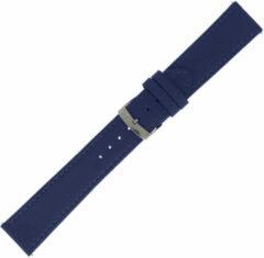 Morelatto Horlogebandje Twingo Nappa Blauw 18mm