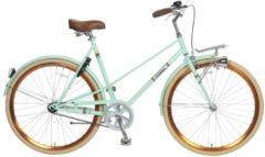 Popal 28 ZOLL CITY FAHRRAD CAPRI 2877 Citybike Damen grün