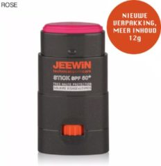JEEWIN Technical Sportscare JEEWIN Sunblock Stick SPF 50 - ROZE | ook geschikt voor bescherming tattoo