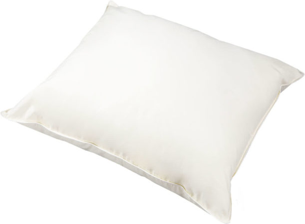 Afbeelding van Witte First label nature kapok stevig hoofdkussen - 60x70 cm, 60x70 cm - standaardmaat