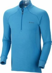 Columbia Baselayer Heavyweight 1/2 Zip - heren - thermoshirt - blauw
