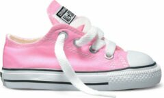 Roze Converse Chuck Taylor All Star Sneakers Laag Baby - Pink - Maat 21