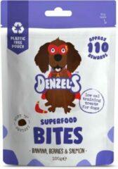 Denzel's Bites - 100% Natuurlijk - Banaan, Bes en Zalm