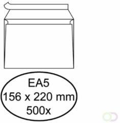Bruna Envelop Hermes bank EA5 156x220mm zelfklevend wit 500stuks
