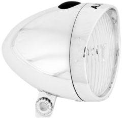 AXA LED Voorlicht 4 Lux Tour Classic Batterij Zilver