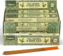 Tulasi wierook Tulasi Nag Champa & White Sage Wierook
