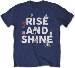 BT21 Heren Tshirt -M- Rise And Shine Blauw