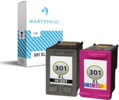 Cyane MartyPrint MaryPrint - HP 301 XXL voordeelset