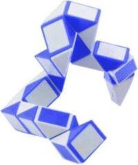 Johntoy Puzzel Magische Slang Hart Blauw/wit