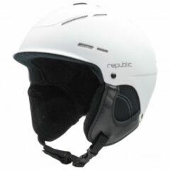 Republic - Helmet R320 - Skihelm maat 60-62 cm, zwart/grijs/wit